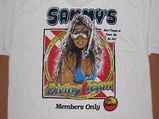 """Neue Sammy """"Diving Team Florida T Shirt große weiße Tee perfekter Zustand L"""
