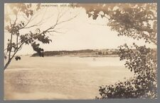 [60552] OLD REAL PHOTO POSTCARD DOWS POINT IN DEER ISLE, MAINE
