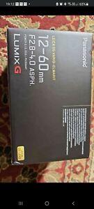 Panasonic Lumix 12-60mm f/2.8-4 Leica DG Lens plus variable ND Filter