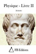 Physique - Livre II by Aristote (2015, Paperback)