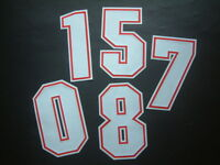NUMERI UFFICIAL ARSENAL AWAY 1996-1997 OFFICIAL NUMBERS FLOCK/VELVET by ISS