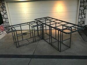 "BBQ Island frame kit DIY 9' ""L"""