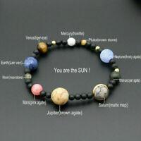 MINIVERSE BRACELET Planets Solar System Stone Gift Gifts Stretch Bangle Jew D1C0