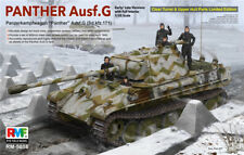 Ryefield-Model 1/35 5016 Sd.Kfz.171 Panther Ausf.G w/Full Interior/Clear Parts
