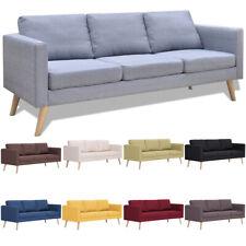 3-Sitzer Sofa Polstersofa Loungesofa Couch Sofagarnitur Stoffsofa Sitzmöbel