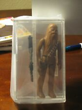 Vintage Star Wars 1988 GLASSLITE Chewbacca AFA 80 NM Loose