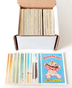 Lot of (200+) 1985 Topps Garbage Pail Kids GPK Series 2 Sticker Cards