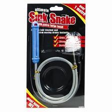 Sink Snake The Ultimate Drain & Sink Cleaner Unblocker + Hair Removal Tool