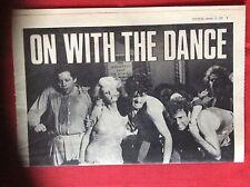 m2b ephemera 1969 article hollywood dance party jane fonda red buttons folded