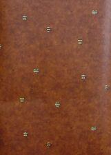 Norwall Deep Burgundy Hearts, Stars, Bee Hives Wallpaper - NC24705