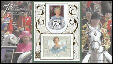 2001 GB Queen's 75th Birthday Benham Gold SpG45 Cover Horse Guards Ave SHS
