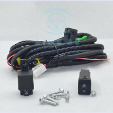 NEW Fog lamp light Wire harness & switch fit  for Nissan Qashqai 2 VISIA Y