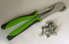 J-clip Pliers Heavy Duty J- clips plier FREE SHIPPING jclip green comfort handle