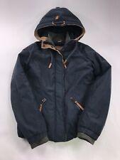 Naketano Women's Jacket Large Hooded coat winter heavy warm
