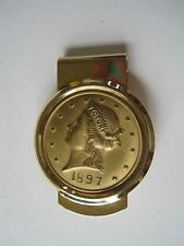 Money Clip 1897 Reproduction Coin Victory