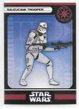 2006 Star Wars Miniatures Saleucami Trooper Stat Card Only Swm Mini