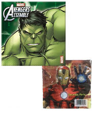 Tovaglioli Carta Hulk Ironman , Festa Compleanno Avengers  *02344