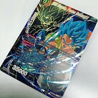 "Dragon Ball Super Card Game."" SSB Gogeta, Fusion Onslaught "" (SPR)"