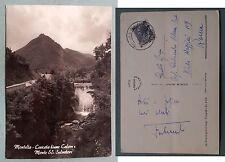 Montella - Cascata fiume Calore e Monte Salvatore 1958
