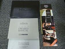 1999 Mazda Millenia Sedan Owner Operator Manual S Supercharged 2.3L 2.5L V6