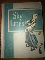 Vintage SKY LINES @ 1953 By Houghton Mifflin Company 4 Stories