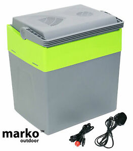 30L Litre Capacity Electrical Coolbox 240V AC & 12V DC Electric Cool Box Cooler
