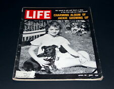 LIFE MAGAZINE APRIL 26 TH 1963 YOUNG JACKIE KENNEDY ON HER 10 TH BIRTHDAY