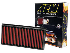 AEM 28-20084 STOCK REPLACEMENT WASHABLE REUSABLE PANEL AIR FILTER [MADE IN USA]