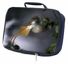 More details for humming bird navy insulated school lunch box bag, ab-91lbn