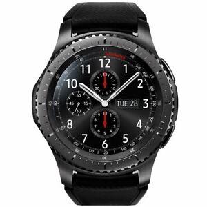 Samsung Gear S3 Frontier SmartWatch Bluetooth NFC Watch SM-R760 - Black