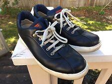 Preowned Mens Men's Salvatore Ferragamo Boat Shoes, Black, Size 8.5 Authentic