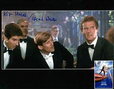 KIT HILLIER James Bond A View to a Kill 'Waiter' Autograph Signed UACC DEALER