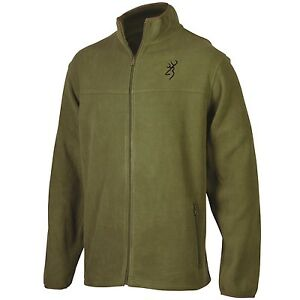 Browning Men's Moss Green Jacket Coat, Buckmark Logo