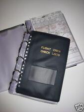 NEW Flight Crew Checklist Binder Military 25 Sheets