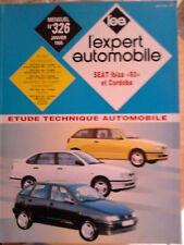 """SEAT Ibiza """"93"""" Cordoba - Revue technique l'Expert Automobile"""