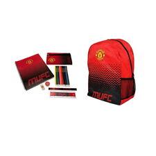 Manchester United-Mochila y Ultimate Estacionario Combo Conjunto