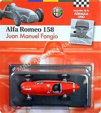 ALFA ROMEO 158 JUAN MANUEL FANGIO #1 1:43 Scale F1 Racing Car Formula One Model