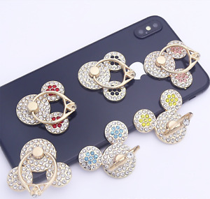 Universal 360 Rotating Finger Ring Stand Holder for Cell Phone iPhone iPad Ear
