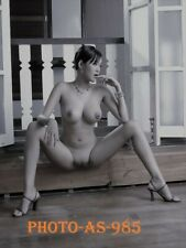 PHOTOGRAPHIE GLAMOUR FEMME  ASIA   2006 PICS  PIN-UP SEXY  PHOTO CHARME 18x13