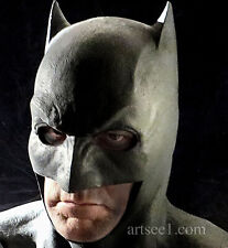 Your Batman Dawn Of Justice/ League Cowl/ Costume Mask needs upgrade latex Reg