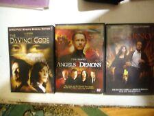 Da Vinci Code/Angels & Demons/Inferno Dvds & Cover Art Only What A Deal!