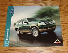 Original 2003 Ford Explorer Sales Brochure 03 NBX XLS XLT