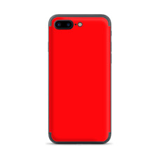 Apple iPhone 7 / 8 Plus Skins Decal Wrap Solid Red color