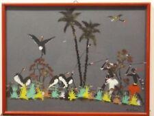 Landschaften Malereien mit Vogel-Motiv