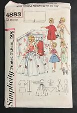 Original VINTAGE Uncut Tammy Doll Closet Full Clothes Simplicity Sewing Pattern