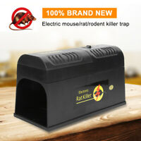 Electronic Mouse Trap Control Rat Killer Pest Electric Zapper Rodent US