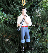 CUSTOM Disney Little Mermaid PRINCE ERIC Christmas Ornament PVC ARIEL BOYFRIEND