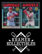 2021 Topps Chrome Baseball Inserts - COMPLETE YOUR SET!