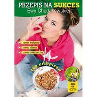 polish book PRZEPIS NA SUKCES Z EWA CHODAKOWSKA +DVD Lefteris polska ksiazka