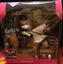 Barbie Kelly and Baby Pony Set Gift Set